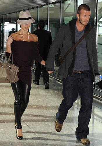 The Most Stylish Couple at Airport Award goes to...