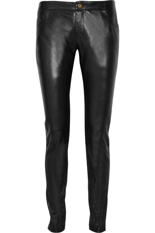 Sara Berman Leather Pants on SALE at the Outnet for $44.80