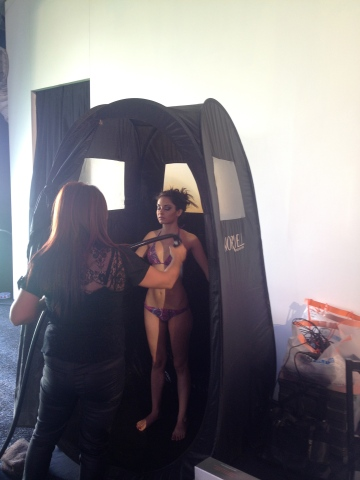 Spray-Tanning at R&B Studios