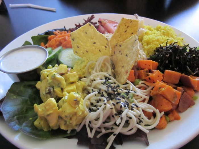 The Salad Sampler
