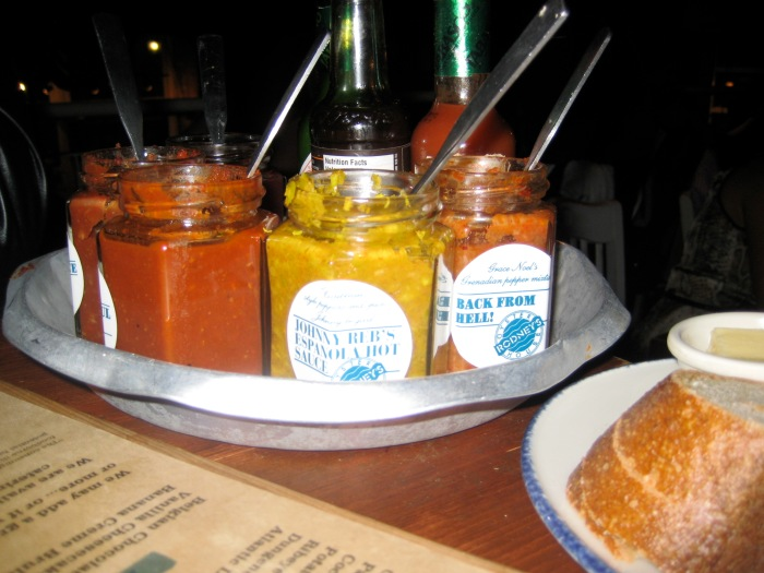 Rodney's Oyster Bar - Condiments for your Oysters