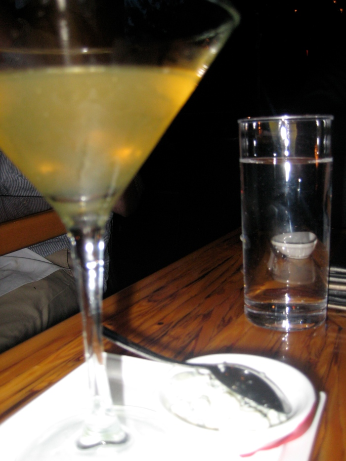 Blue Cheese Martini at Chambar