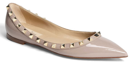 Valentino Studded Flats
